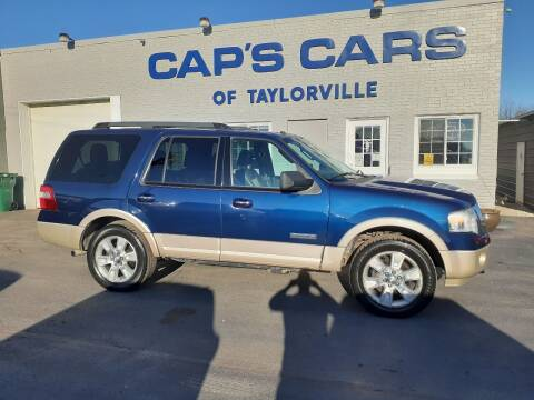 2007 Ford Expedition for sale at Caps Cars Of Taylorville in Taylorville IL