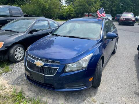 2012 Chevrolet Cruze for sale at Noble PreOwned Auto Sales in Martinsburg WV