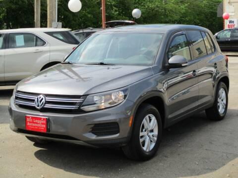 2013 Volkswagen Tiguan for sale at Bill Leggett Automotive, Inc. in Columbus OH