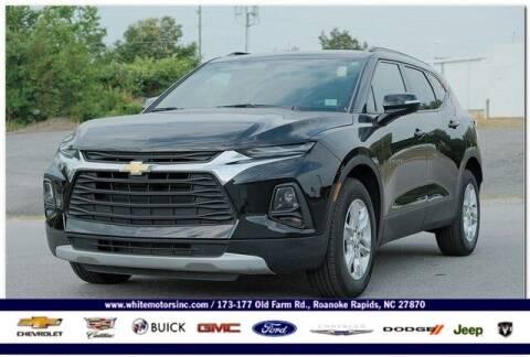 2020 Chevrolet Blazer for sale at WHITE MOTORS INC in Roanoke Rapids NC