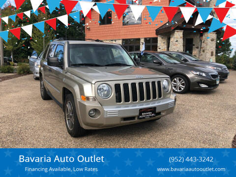 2009 Jeep Patriot for sale at Bavaria Auto Outlet in Victoria MN