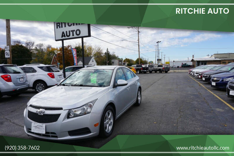 2014 Chevrolet Cruze for sale at Ritchie Auto in Appleton WI
