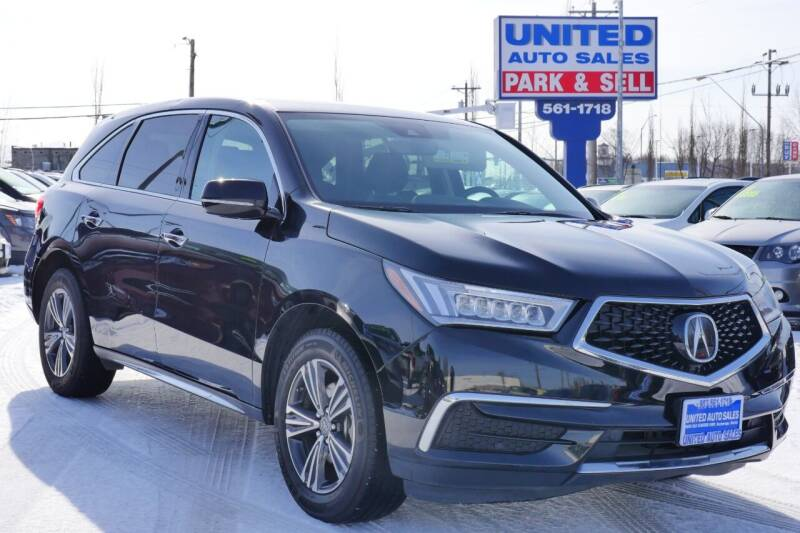 2017 Acura MDX for sale at United Auto Sales in Anchorage AK