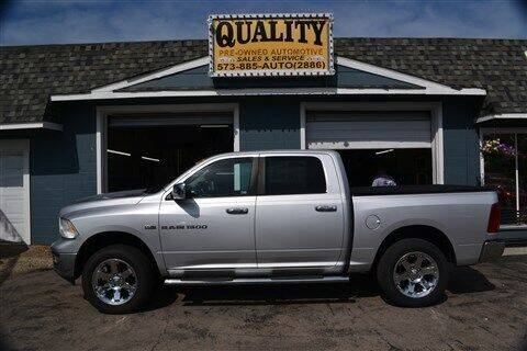 2011 RAM Ram Pickup 1500 for sale at Quality Pre-Owned Automotive in Cuba MO
