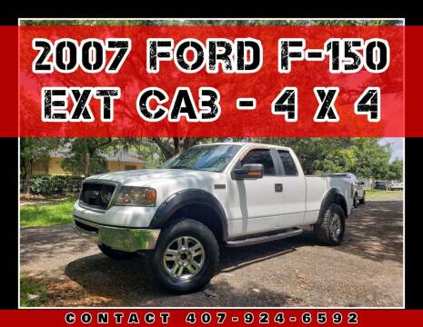 2007 Ford F-150 for sale at AFFORDABLE ONE LLC in Orlando FL