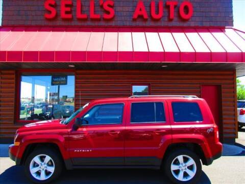 2017 Jeep Patriot for sale at Sells Auto INC in Saint Cloud MN