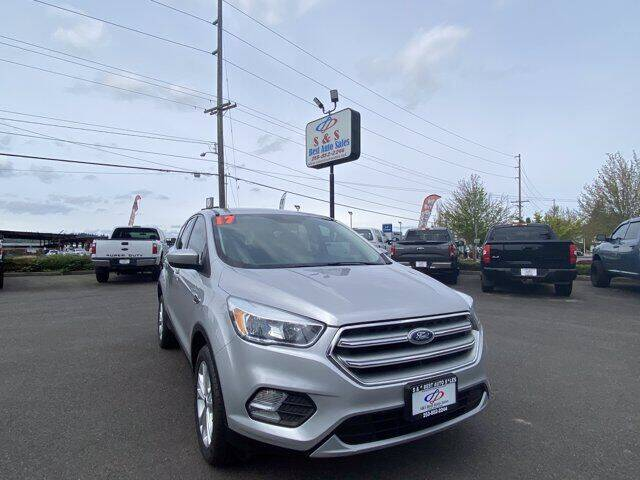 2017 Ford Escape for sale at S&S Best Auto Sales LLC in Auburn WA