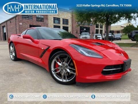 2015 Chevrolet Corvette for sale at International Motor Productions in Carrollton TX