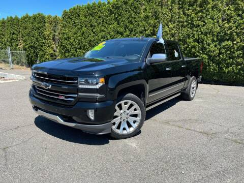2018 Chevrolet Silverado 1500 for sale at Yaktown Motors in Union Gap WA