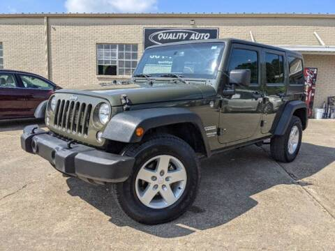 2015 Jeep Wrangler Unlimited for sale at Quality Auto of Collins in Collins MS
