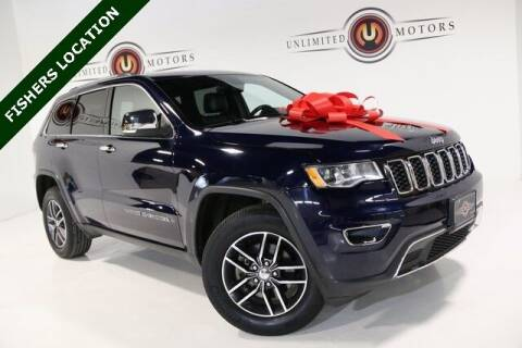 2018 Jeep Grand Cherokee for sale at Unlimited Motors in Fishers IN