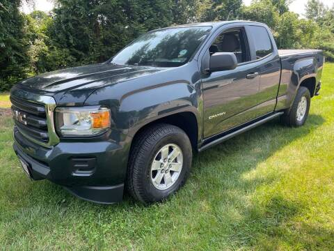 2018 GMC Canyon for sale at MEE Enterprises Inc in Milford MA