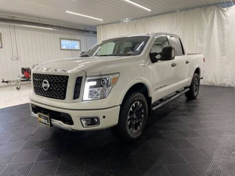 2019 Nissan Titan for sale at Monster Motors in Michigan Center MI