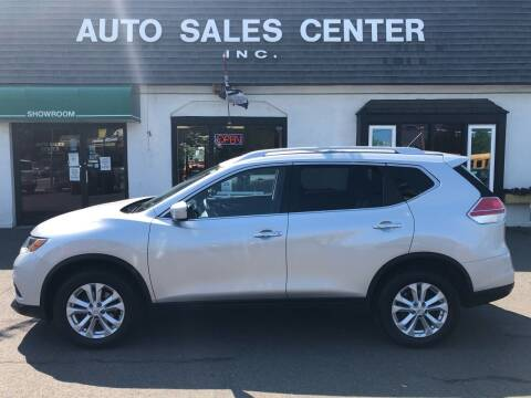 2015 Nissan Rogue for sale at Auto Sales Center Inc in Holyoke MA