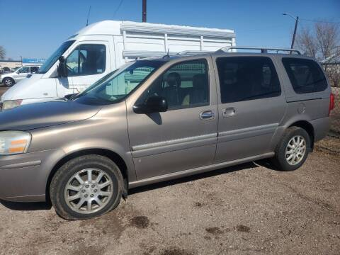 2006 Buick Terraza for sale at PYRAMID MOTORS - Fountain Lot in Fountain CO