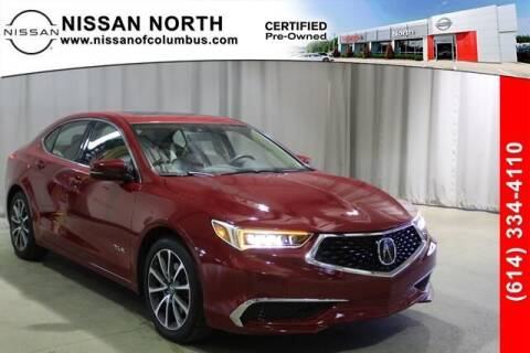 2018 Acura TLX for sale at Auto Center of Columbus in Columbus OH