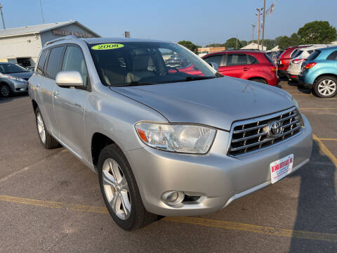 2008 Toyota Highlander for sale at De Anda Auto Sales in South Sioux City NE