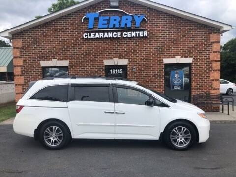 2012 Honda Odyssey for sale at Terry Clearance Center in Lynchburg VA