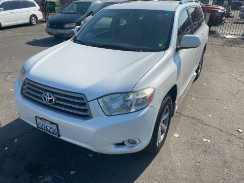 2009 Toyota Highlander for sale at 101 Auto Sales in Sacramento CA