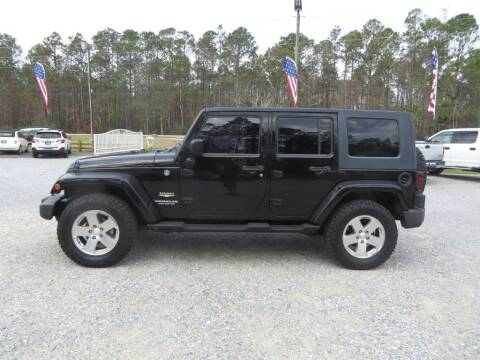 2009 Jeep Wrangler Unlimited for sale at Ward's Motorsports in Pensacola FL