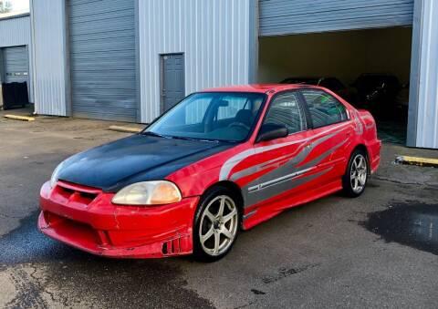 1998 Honda Civic for sale at DASH AUTO SALES LLC in Salem OR