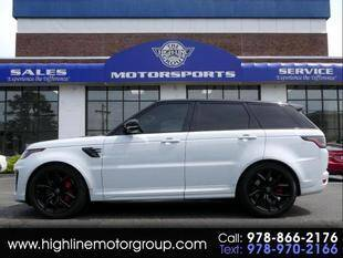 2021 Land Rover Range Rover Sport for sale at Highline Group Motorsports in Lowell MA