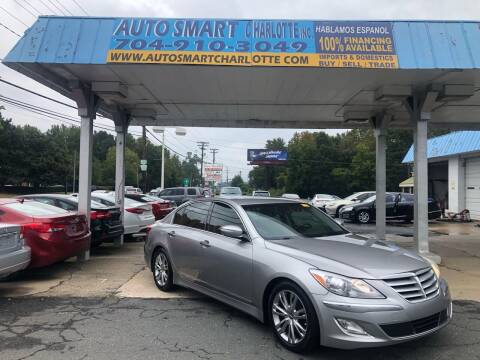 2012 Hyundai Genesis for sale at Auto Smart Charlotte in Charlotte NC