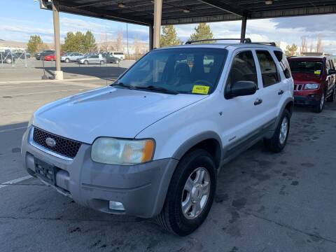 2002 Ford Escape for sale at Auto Bike Sales in Reno NV