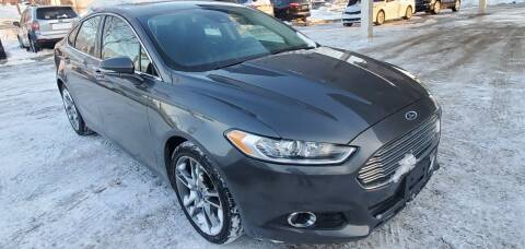 2016 Ford Fusion for sale at Divine Auto Sales LLC in Omaha NE