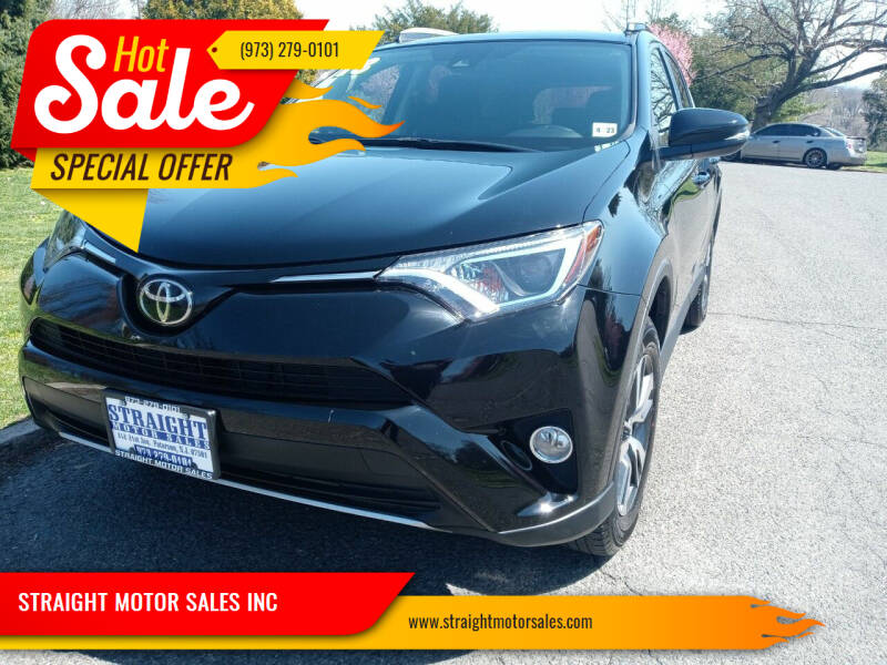 2018 Toyota RAV4 for sale at STRAIGHT MOTOR SALES INC in Paterson NJ