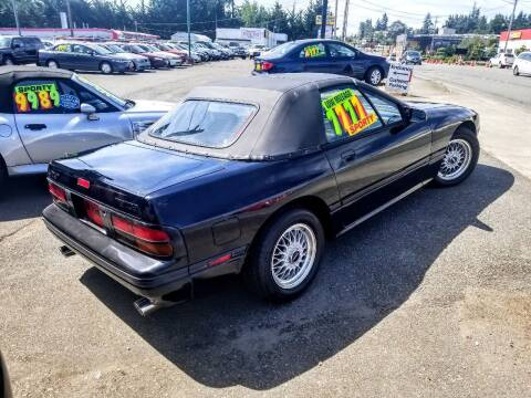 1988 Mazda RX-7 for sale at SS MOTORS LLC in Edmonds WA
