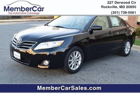 2011 Toyota Camry for sale at MemberCar in Rockville MD