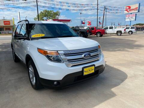 2013 Ford Explorer for sale at Russell Smith Auto in Fort Worth TX