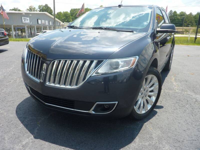 2014 Lincoln MKX for sale at Roswell Auto Imports in Austell GA