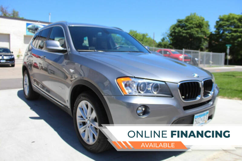 2013 BMW X3 for sale at K & L Auto Sales in Saint Paul MN