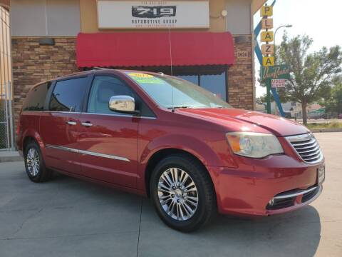 2011 Chrysler Town and Country for sale at 719 Automotive Group in Colorado Springs CO