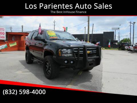 2013 Chevrolet Tahoe for sale at Los Parientes Auto Sales in Houston TX
