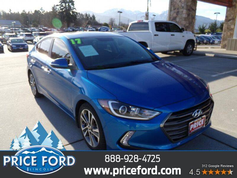 2017 Hyundai Elantra for sale at Price Ford Lincoln in Port Angeles WA