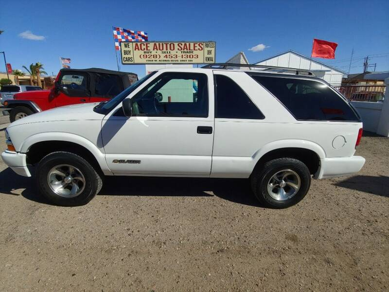 2004 Chevrolet Blazer for sale at ACE AUTO SALES in Lake Havasu City AZ