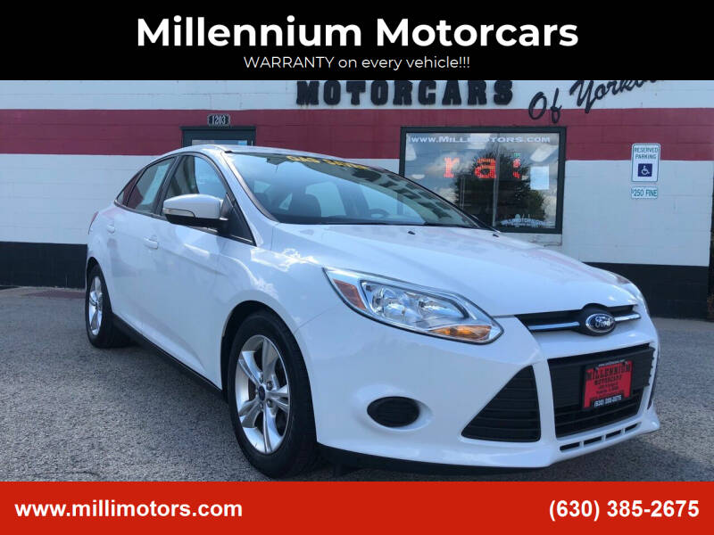2014 Ford Focus for sale at Millennium Motorcars in Yorkville IL