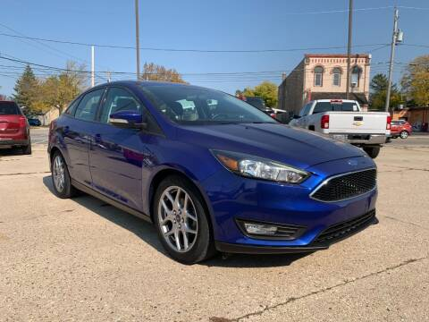 2015 Ford Focus for sale at Auto Gallery LLC in Burlington WI