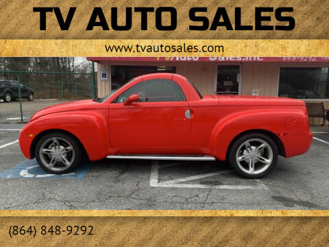 2004 Chevrolet SSR for sale at TV Auto Sales in Greer SC