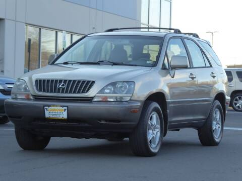 2000 Lexus RX 300 for sale at Loudoun Used Cars - LOUDOUN MOTOR CARS in Chantilly VA