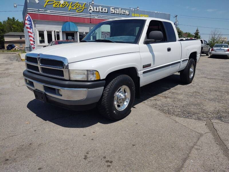 2001 Dodge Ram Pickup 2500 for sale at Peter Kay Auto Sales in Alden NY