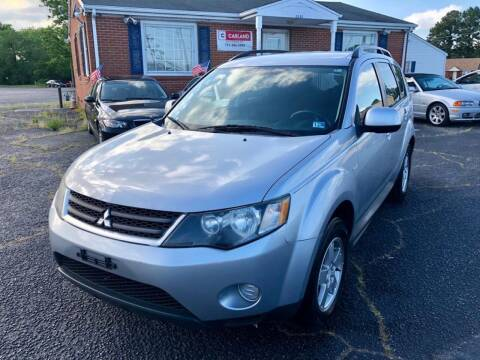 2009 Mitsubishi Outlander for sale at Carland Auto Sales INC. in Portsmouth VA