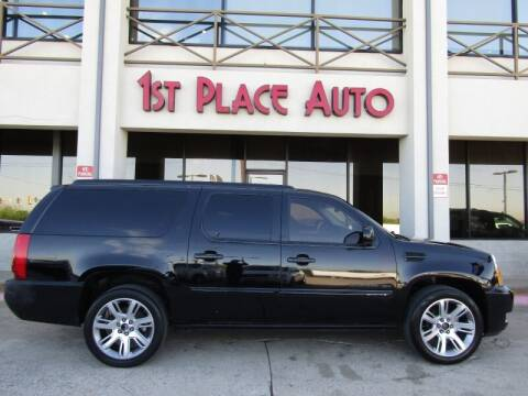 2013 Cadillac Escalade ESV for sale at First Place Auto Ctr Inc in Watauga TX