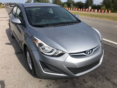 2015 Hyundai Elantra for sale at Tennessee Auto Brokers LLC in Murfreesboro TN