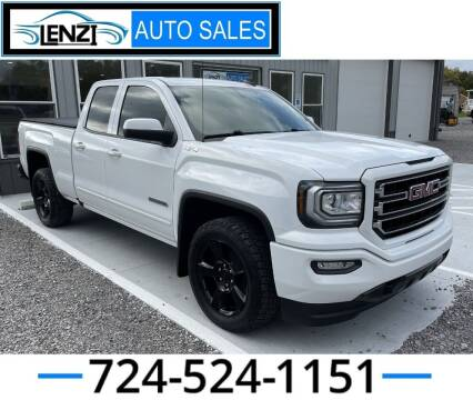 2017 GMC Sierra 1500 for sale at LENZI AUTO SALES in Sarver PA