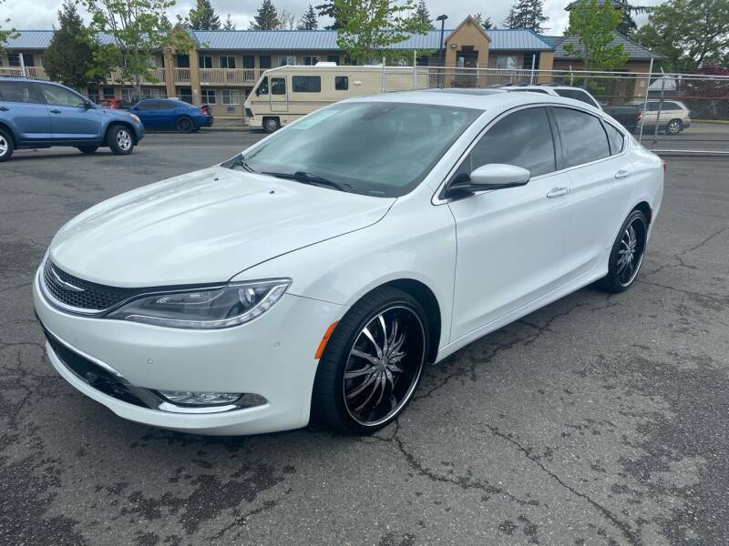 2015 Chrysler 200 for sale at Vista Auto Sales in Lakewood WA