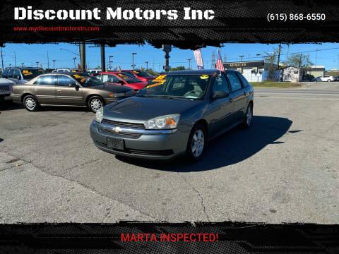 2005 Chevrolet Malibu Maxx for sale at Discount Motors Inc in Madison TN